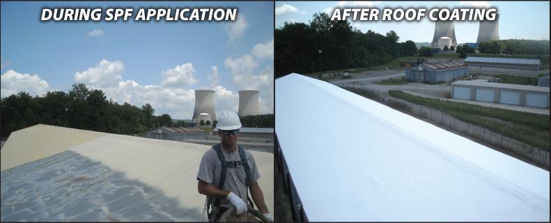 ... Foam Over Metal Roof Coating ...